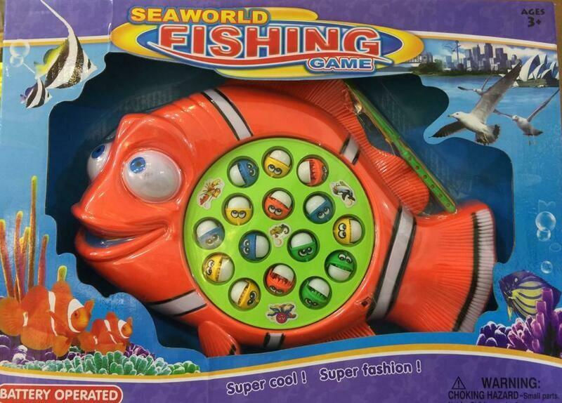 لعبه صياد سمك كبيره