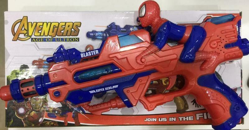 مسدس اسبايدر مان