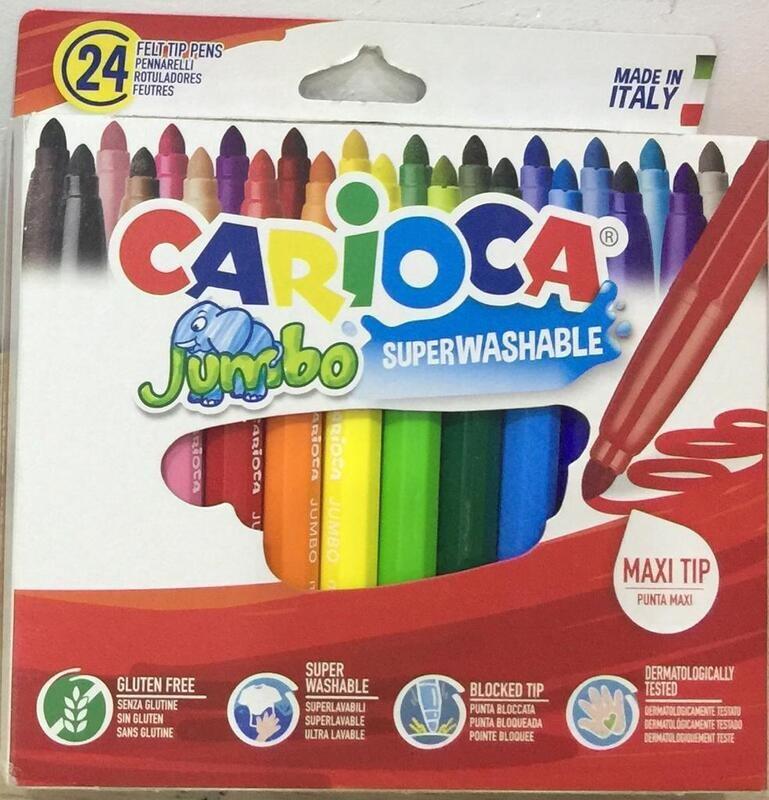 الوان فلوماستر 24 لون جامبو