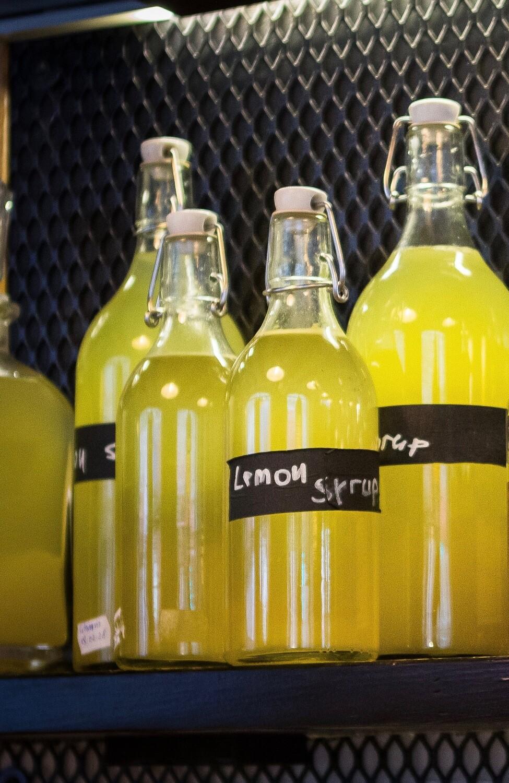 Naminis citrinų sirupas 500 ml.