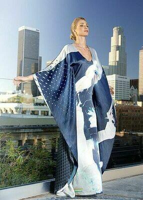Cockatoo Kimono Dress