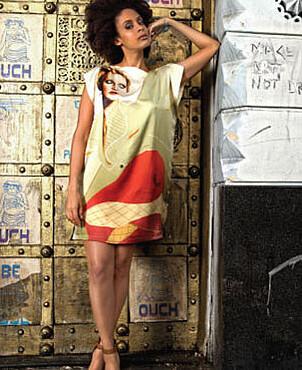 Out on a Limb Silk Dress
