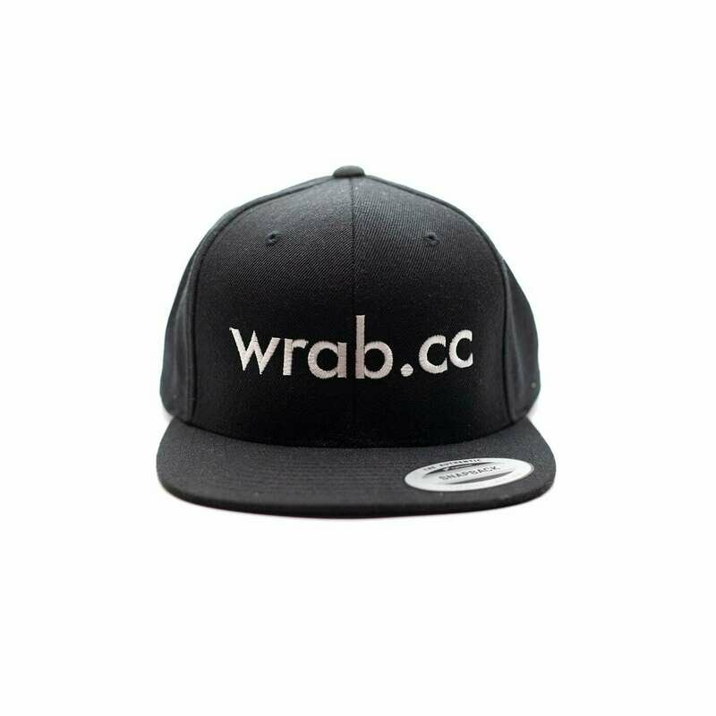 All Black Snapback Podium Cap