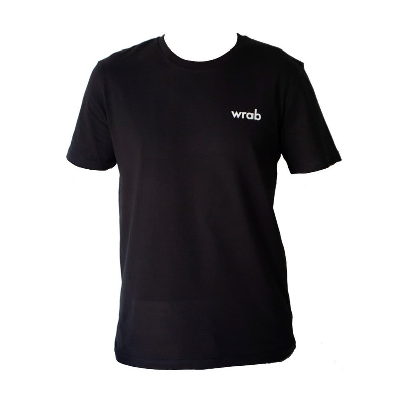 All Black Organic T-shirt Men