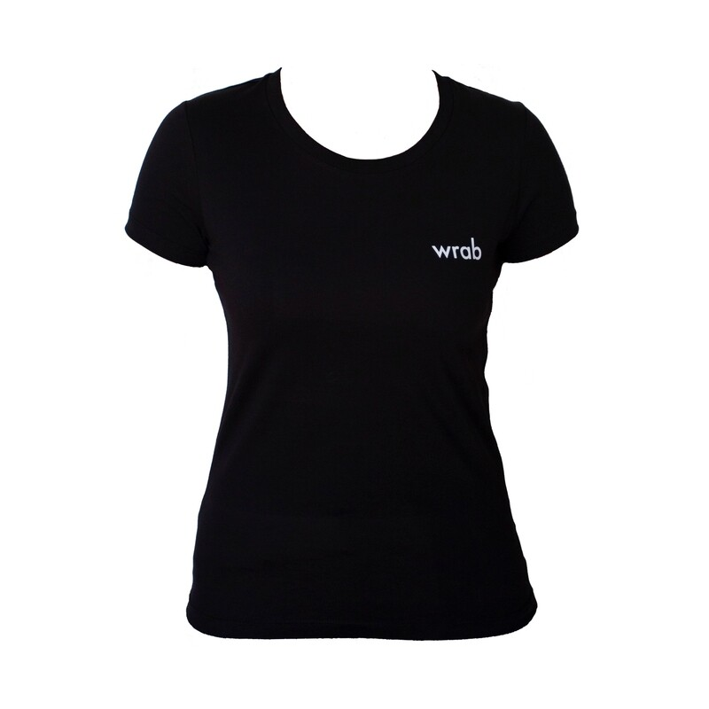All Black Organic T-shirt Women