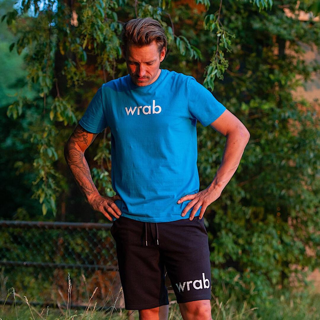 Côte d'Azur  Blue Organic T-shirt Men