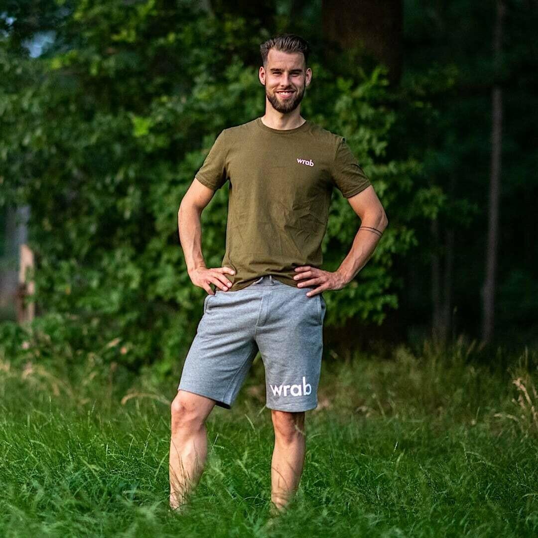 Grey Organic Shorts