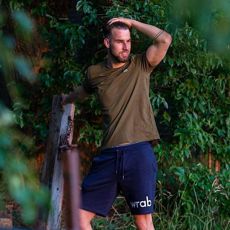 Marine Blue Organic Shorts