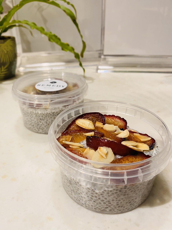 Plum & Almond Chia Pudding (Express)