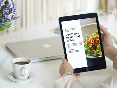 Ebook: Devotedly Healthy at Home (Recipes & More)