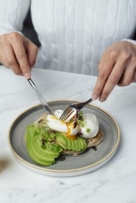 Eggs & Avo Flatbread