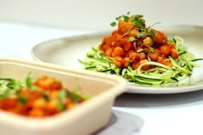Harissa Chickpea & Sweet Potato Stew