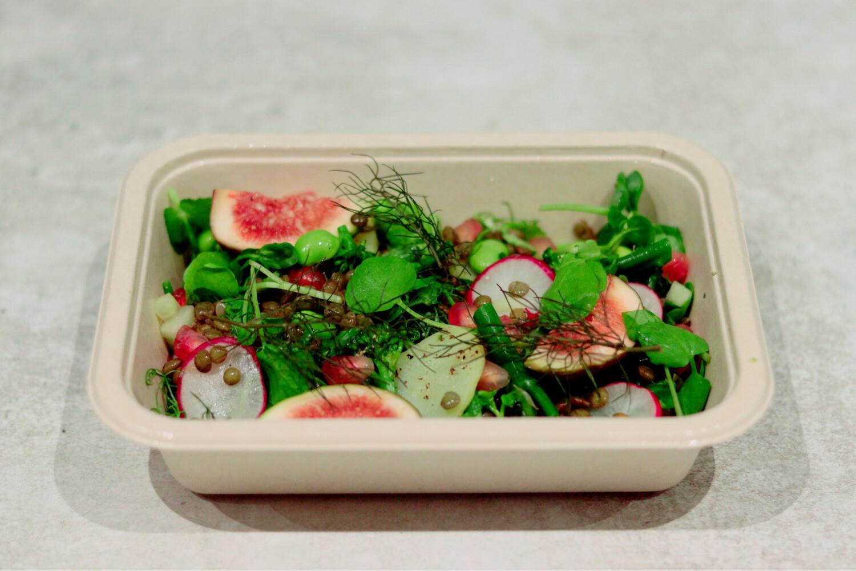 Fig, Lentil And Avocado Salad