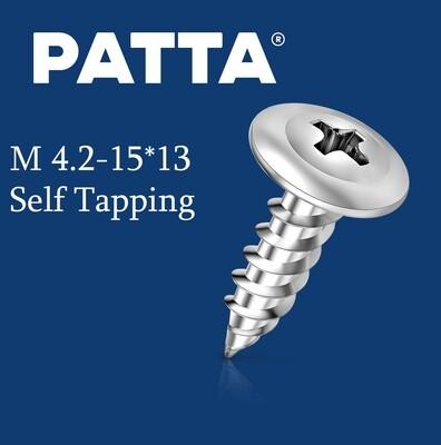 PATTA Պտուտակ գիպսակարտոնի պրոֆիլի սուր M4.2-15*13