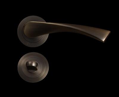 Դռան բռնակ ZG01-A726 B MAB (2 կտոր,ֆիկսատրով )