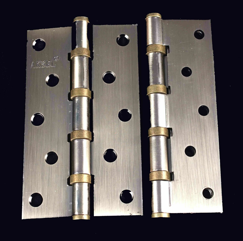 Դռան ծղնի Aksel ունիվերսալ 12 սմ (AB)