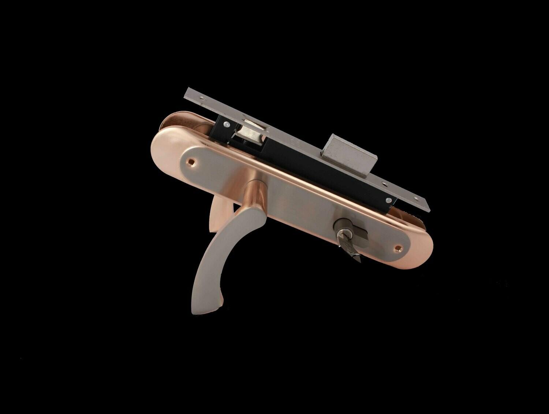 Դռան փականի կոմպլեկտ բանալիով F8509-L09 KGP/SN