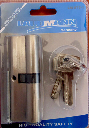 Դռան փականի միջուկ LAUDMANN 60