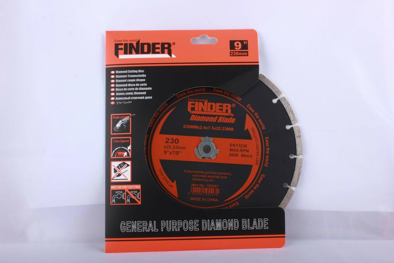 FINDER Սկավառակ կտրող 230mm (Կտրտած) 195547
