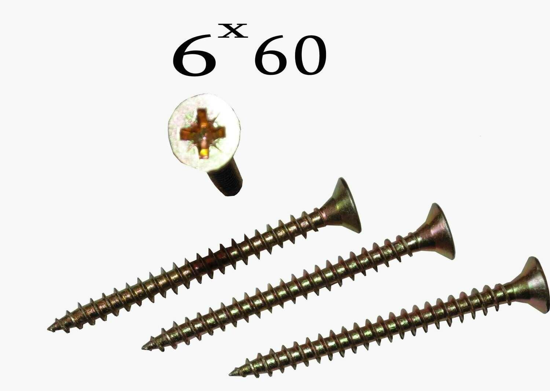 Պտուտակ 6*60 (ոսկեգույն)