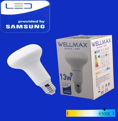 Էլ.լամպ LED Wellmax 13W daylight (R80 E27 6500K)