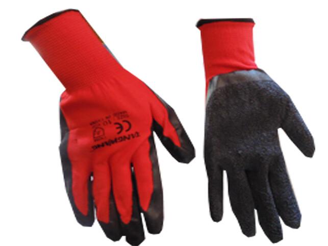 Բանվորական ձեռնոց (կարմիր,ռելիեյֆային)