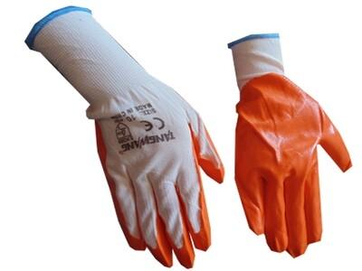 Բանվորական ձեռնոց (նարնջագույն,նոր)