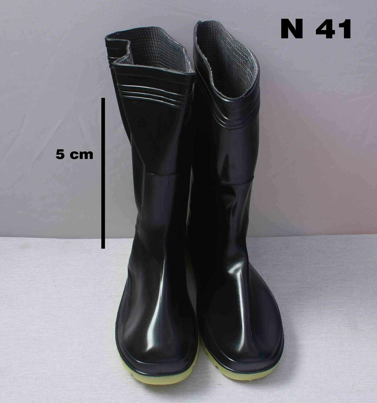 Սապոկ ռեզինե  դեղին տակով (կարճ)  N41