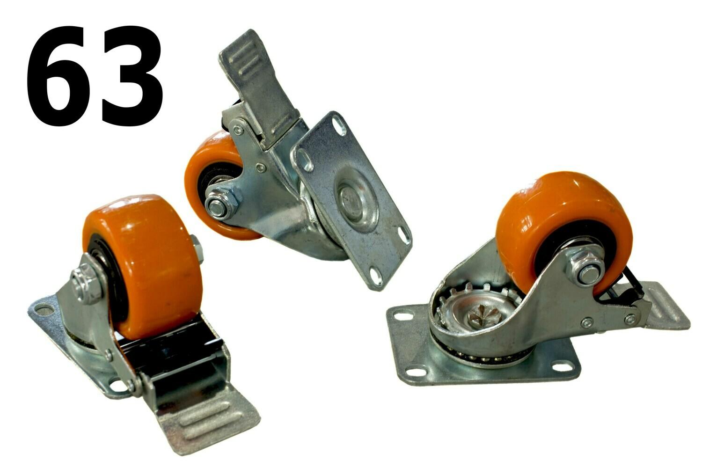 Սայլակի ակ նարնջագույն 63 (տոռմուզով)