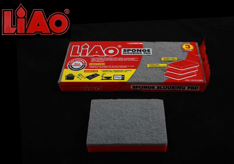 Liao Սպունգ աման լվանալու 3Հատ H130028