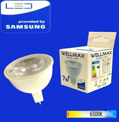 Էլ,լամպ LED Wellmax  07W (GU5,3 6500K)