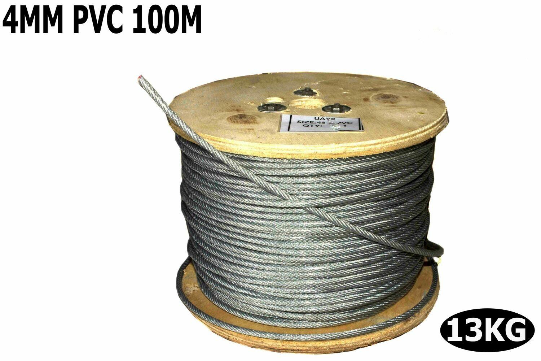 Տռոս բաբինով PVC 4մմ 100մ