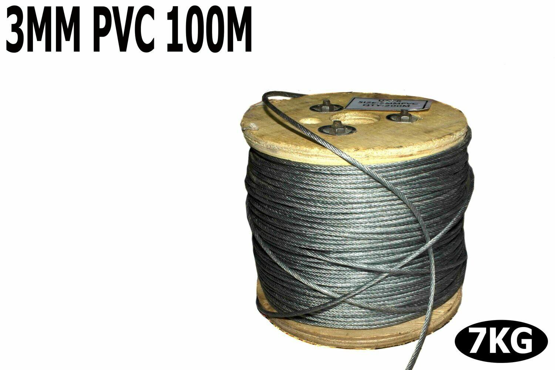 Տռոս բաբինով PVC 3մմ 100մ