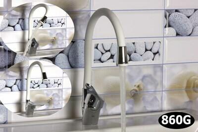 Խոհանոցի Կարապ սպիտակ ճկվող քթով