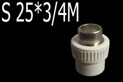 Պայկի դետալ PPR S 25*3/4M