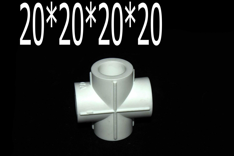 Պայկի դետալ խաչուկ PPR T20*20*20*20 HENCO