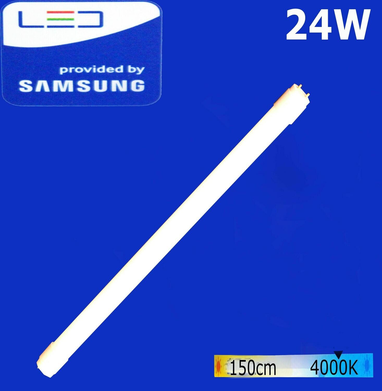 Էլ.լամպ խողովակաձև LED Wellmax 24W (155 սմ) (T8, 4000K)