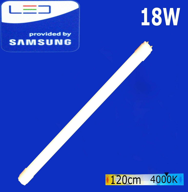 Էլ.լամպ խողովակաձև LED Wellmax 18W  (T8, 4000K)