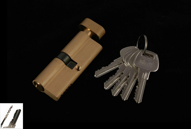 Դռան փականի միջուկ  70 5k brass GP