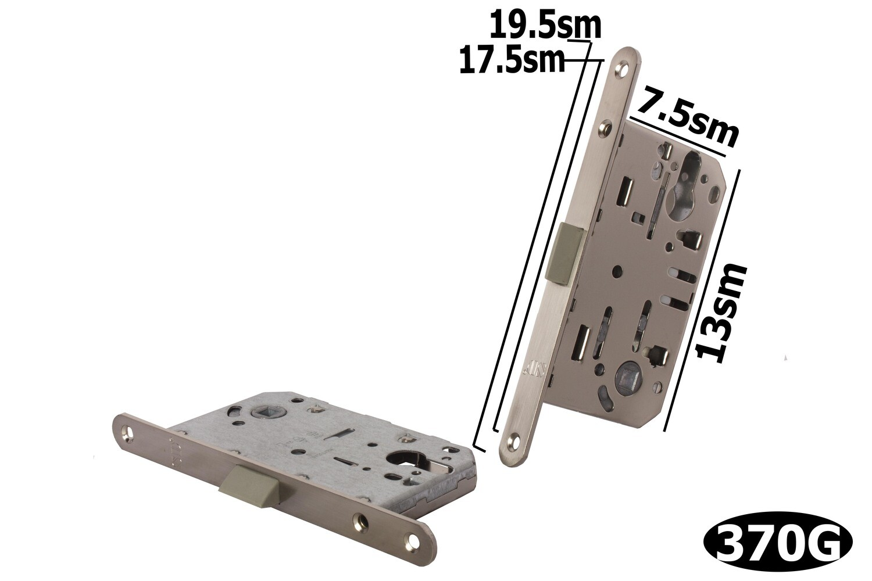 Դռան փականի մեխանիզմ SD 410 C-S SN