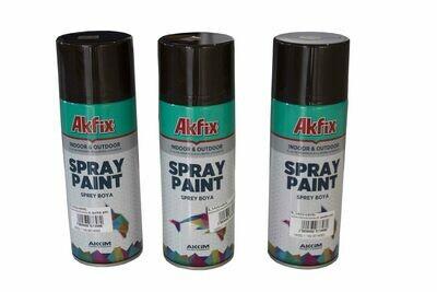G_Ներկ-սփրեյ շագանակագույն AKFIX 400 մլ_G