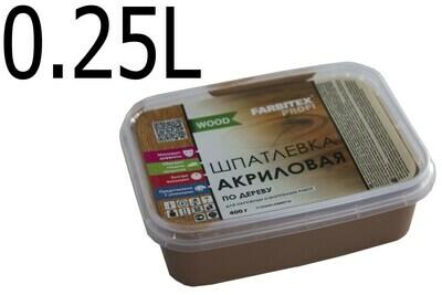Ա Ծեփ. փայտի Farbitex Profi Good For Wood Махагон (0,25 լ.)