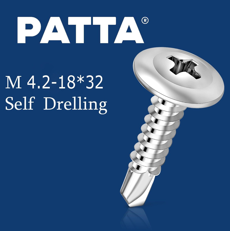 PATTA Պտուտակ գիպսակարտոնի պրոֆիլի սվեռլո M4.2-32