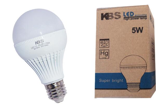 Էլ.լամպ KBS 7W LED (դեղին)