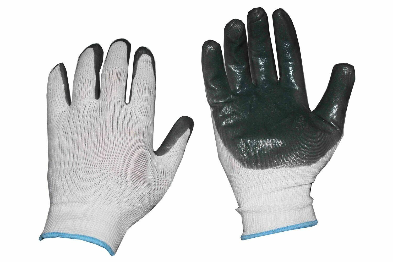 Բանվորական ձեռնոց (մոխրագույն,բարակ)