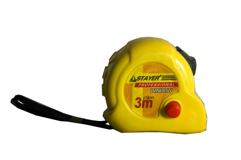 Մետր 3մ դեղին․ BO181-283