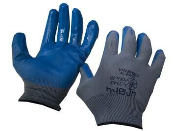 G_Բանվորական ձեռնոց կապույտ-սեռի( տեղական )_G