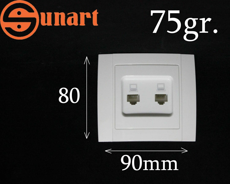 Sunart Էլ.վարդակ-լան 2 տեղ SR-2527N