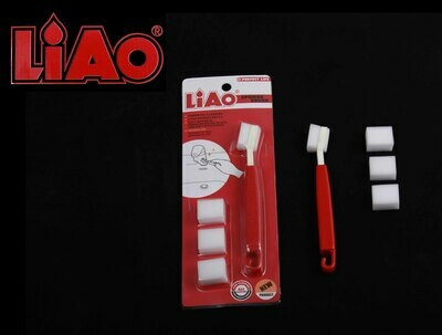 Liao Խոզանակ սպունգե 15,5սմ  D130045(Sponge size:2