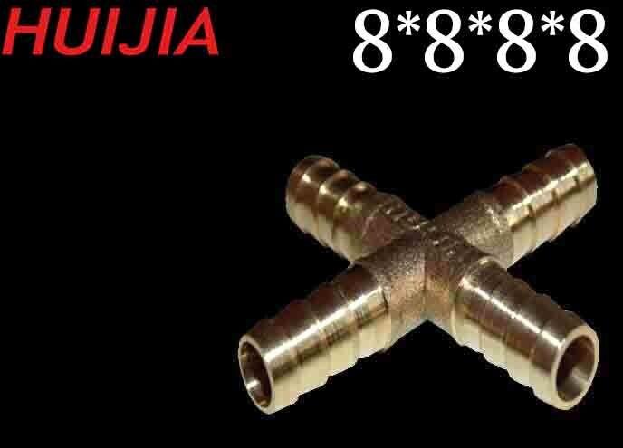 Միացում (штуцер) 8*8*8*8 HUIJIA (HJ-8631)